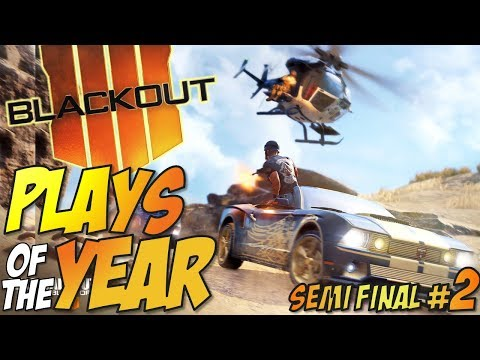 Call of Duty: Black Ops 4 - BLACKOUT Plays Of The Year #2 (BO4 Blackout Moments Montage)