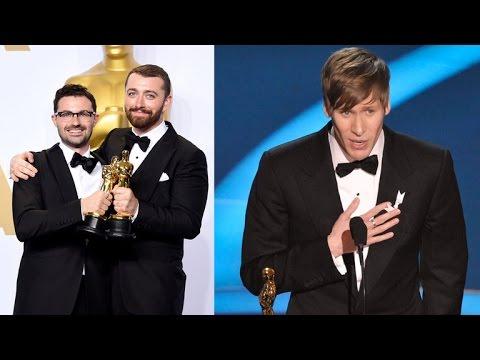 Dustin Lance Black Slams Sam Smith's Oscars Acceptance Speech Mp3
