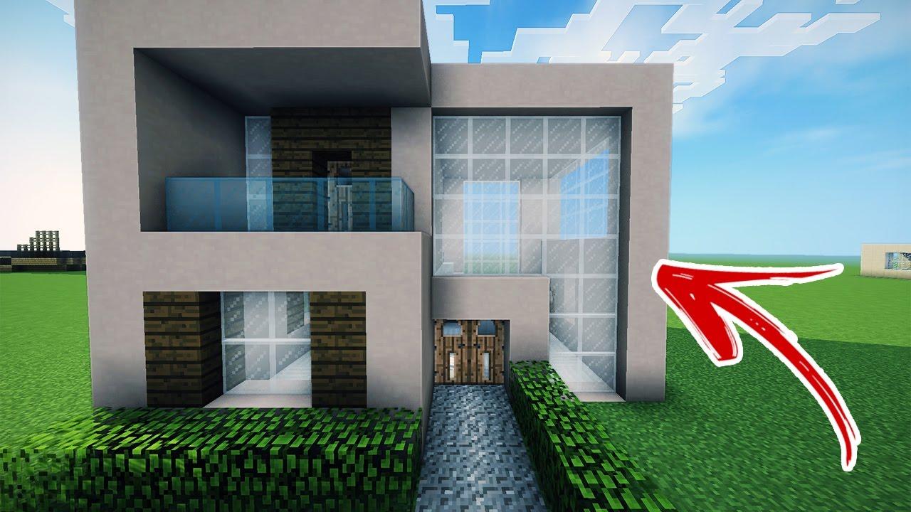 Minecraft como fazer uma casa moderna de praia many youtube for Colori casa moderna