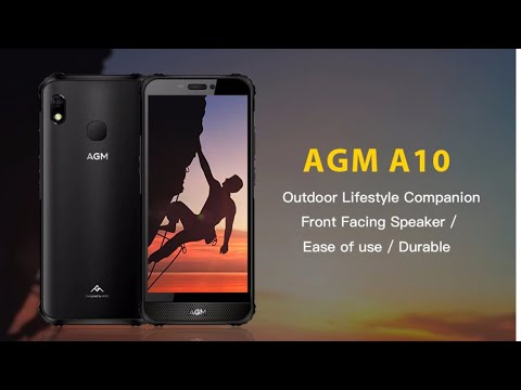 AGM A10 First Look  Under $150 IP68 Rugged Phone With NFC