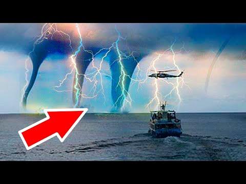 Такое Случается Только Один Раз в 100 Лет! Самые Редкие Природные Явления