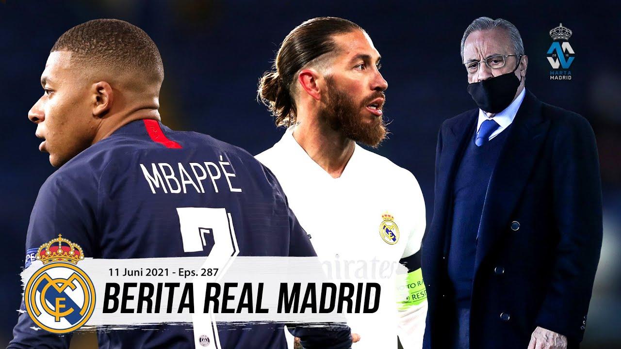 Mustahil Bagi Real Madrid Datangkan Kylian Mbappe   Kesempatan Terakhir Sergio Ramos Untuk Bertahan