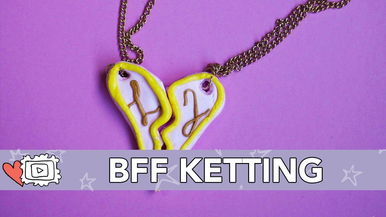Fonkelnieuw Jills Bonus DIY: BFF Ketting - YouTube HY-71
