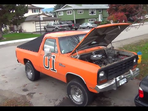 Ramcharger General Lee Dixie Horn!
