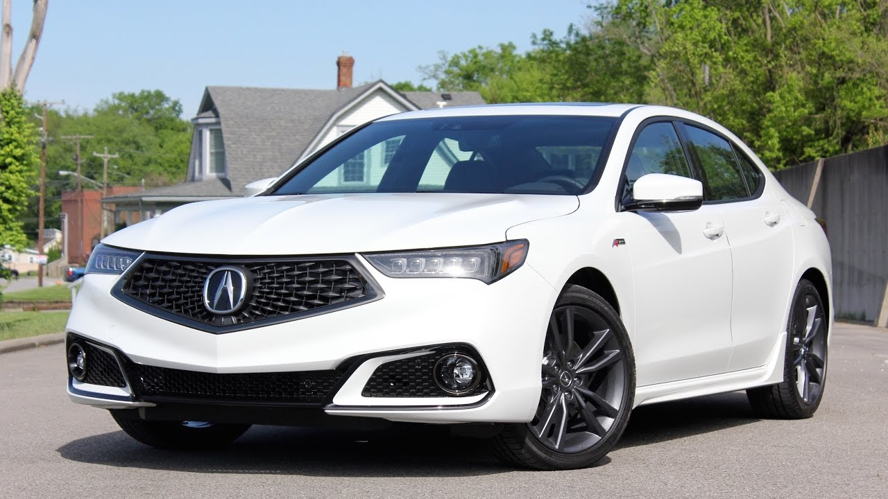 2018 Acura TLX A-Spec WALKAROUND - YouTube
