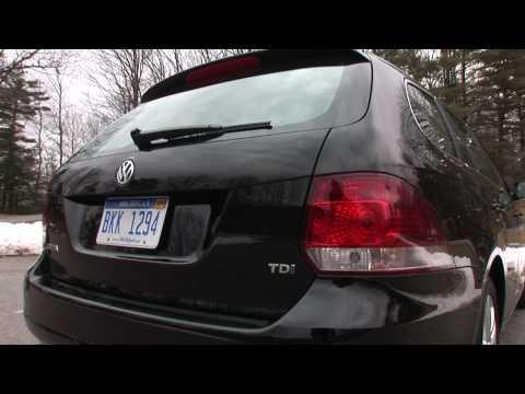 2010 Volkswagen Jetta SportWagen TDI - Drive Time Review | TestDriveNow