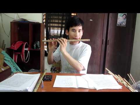 Video 4b: Bài Happy birthday to you-Hướng dẫn thổi sáo Cao Trí Minh