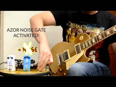 Azor AP-307 The Noise Testing with Stacked Overdrives