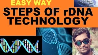 STEPS OF rDNA TECHNOLOGY EASY WAY
