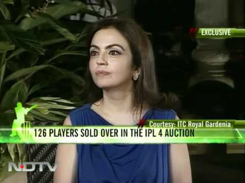 Nita Ambani on Sachin, Mukesh and IPL4