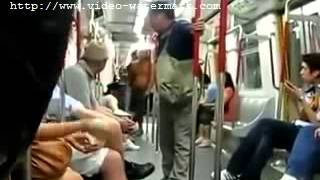 Chinese bully on HK train picked on the wrong guy  new