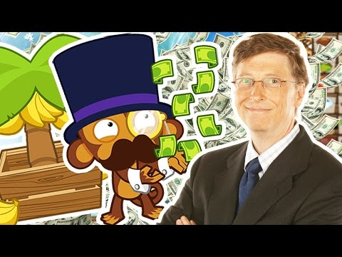 $15,000,000 HARDEST CHALLENGE EVER *BILL GATES STRATEGY* - BLOONS TOWER DEFENSE 5