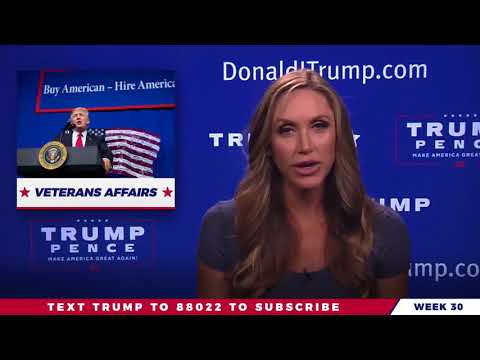 WEEKLY UPDATE: Lara Trump Gives You Weekly Update On The Real News on President Donald Trump