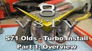 Bullseye Power Turbo Video Install Part 1 - S71 Olds Project V8TV