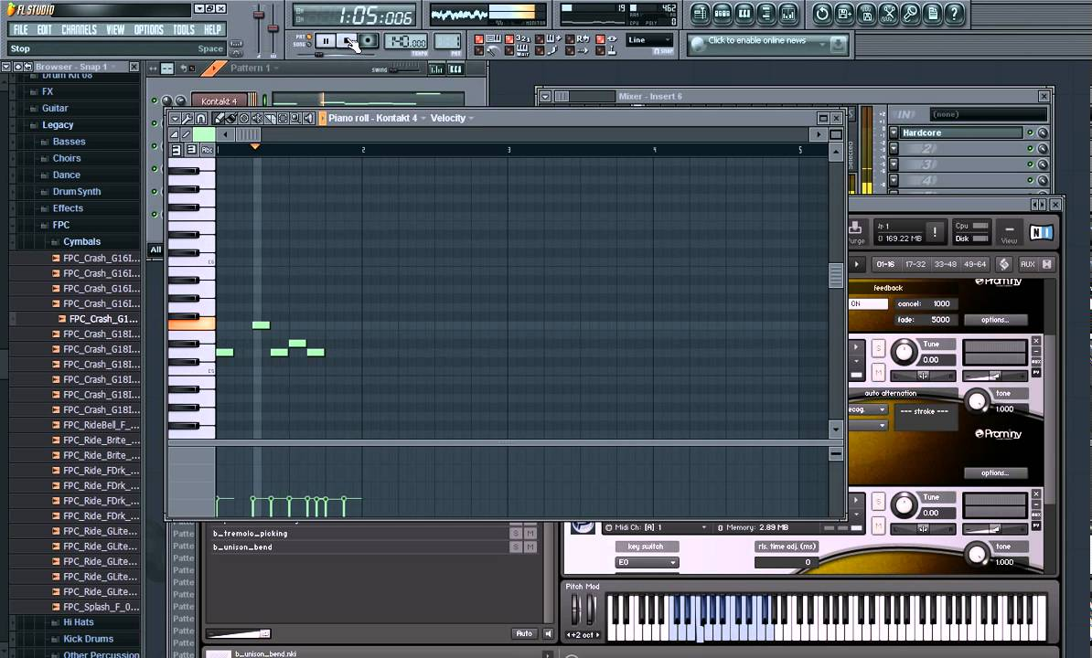 how to make a guitar solo in fl studio