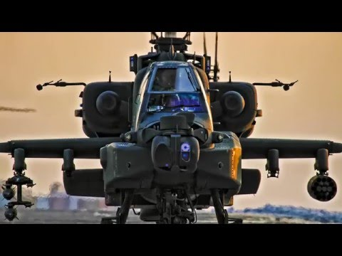 Западное оружие. Вертолеты 'Апачи' в действии • Кадры Боя