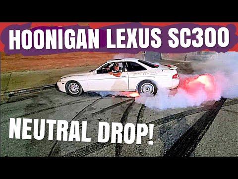 Stuntman Gives The HOONIGAN SC300 2JZ The Treatment! NEUTRAL DROP!