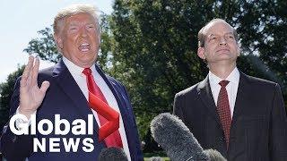 Donald Trump announces Alex Acosta resignation; blasts Paul Ryan, Robert Mueller