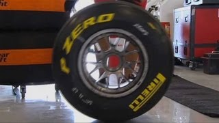 An inside look at how Pirelli tires are produced.