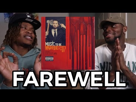 CRAZY - EMINEM - FAREWELL (FIRST REACTION)
