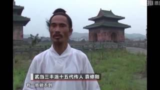 武当道家养生气功之鹤形桩功、wudang qigong 、Master yuan xiu gang