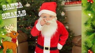 Santa Claus Smalls pretend play kids fun Christmas video Kids Save Christmas