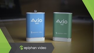 AV.io video grabbers - HDMI, SDI, DVI, VGA Video Capture over USB 3.0 - By Epiphan Video