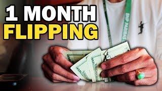 1 Month Flipping Challenge   8x Money Return