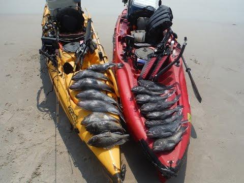Kayak fishing for black seabass youtube for Elias v fishing