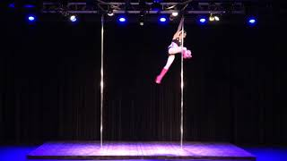 2018 US Pole Dance Championship Novice Level 2 Sexy Division - Alex
