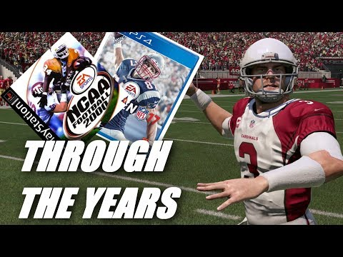 CARSON PALMER THROUGH THE YEARS! NCAA Football 2000 - Madden 17