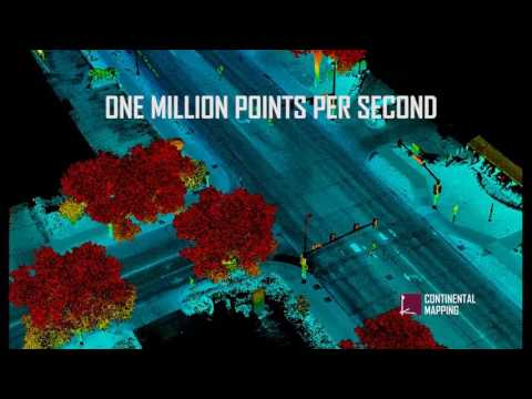 Mobile Lidar Mapping: A Million Points