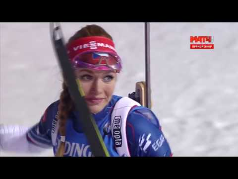 Сенсация в женском биатлоне. Лучший финиш! / Sensation In The Women's Biathlon