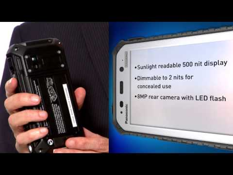 Panasonic Toughpad Rugged Handheld Tablets - Official Overview