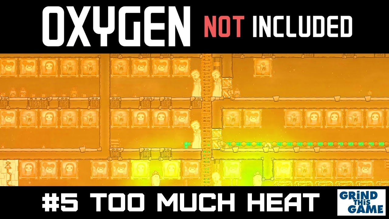 Too Much HEAT & Cooling Ideas - New Oil Base - Oxygen Not Included Oil  Upgrade #5 [4k]