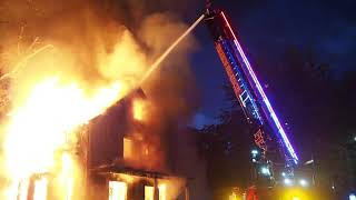 Second Alarm House Fire