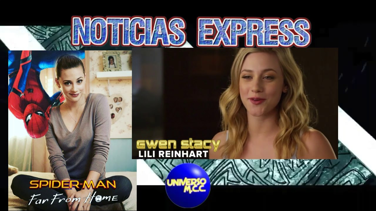 lili reinhart podria ser gwen stacy - youtube