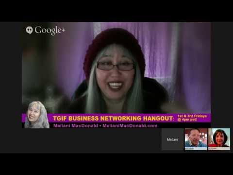 TGIF Business Networking Hangout - Writing & Publishing & Promoting, Oh My!