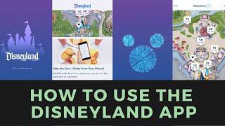 How To Use The Disneyland App
