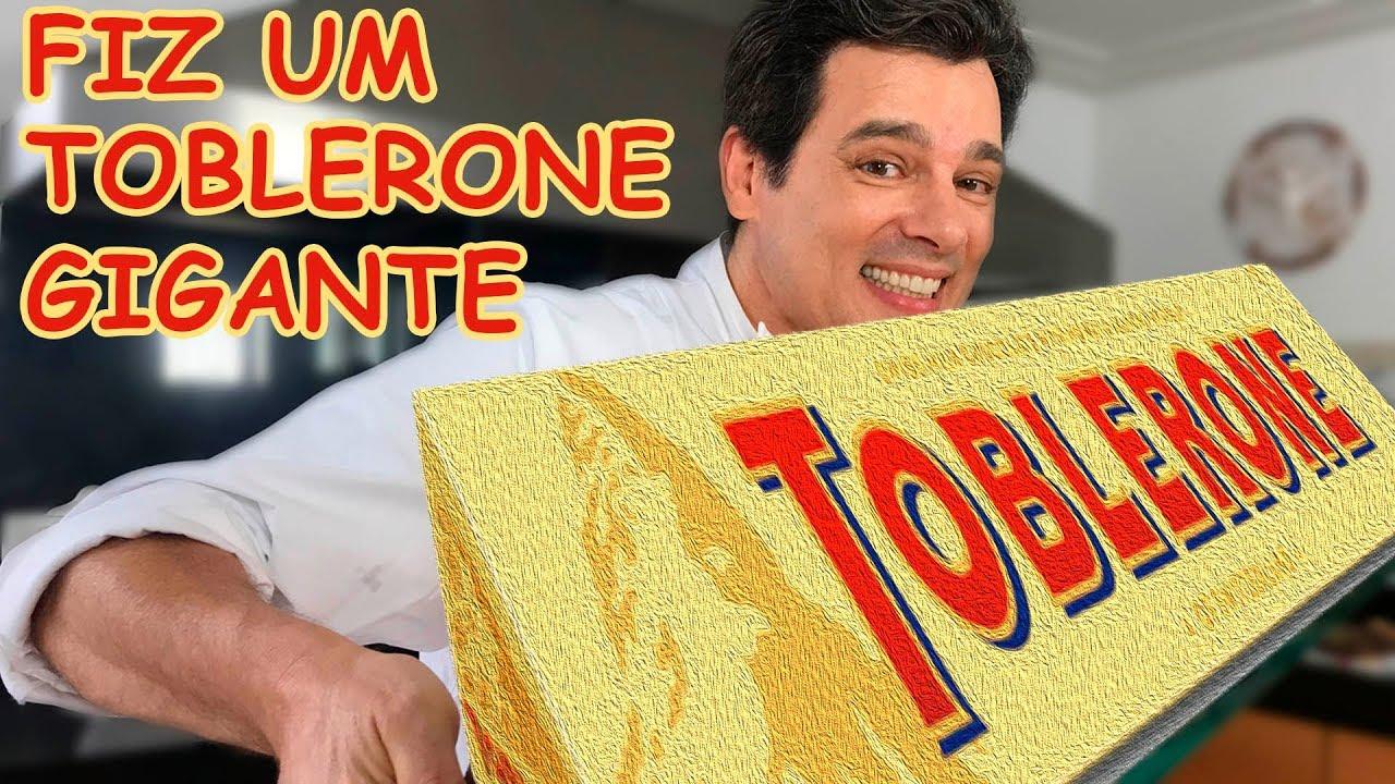 TOBLERONE GIGANTE - CONFIRA SE DEU CERTO!