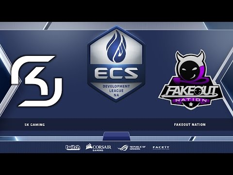 SK Gaming vs FakeOut Nation - Map 2 - Cache (ECS Season 2 Developmental League)