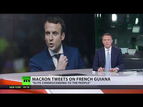 'Not Father Christmas': Macron refuses to give extra funds to impoverished French Guiana