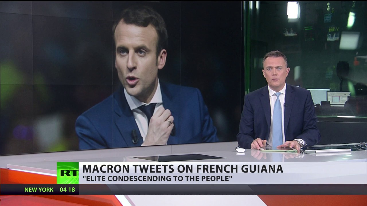 Nao Sou Papai Noel Macron Gera Revolta Em Visita A Guiana Francesa Video Sputnik Brasil