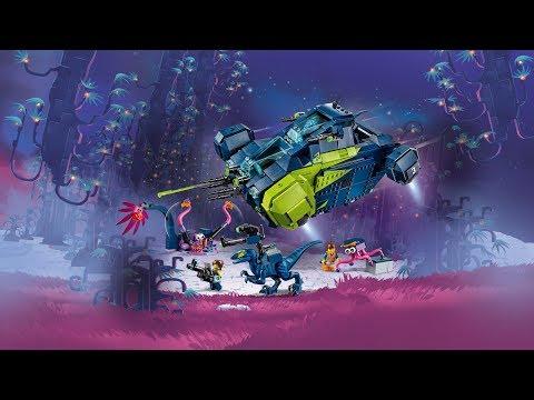 The LEGO Movie 2 70835 - Рэксследователь Рэкса