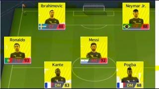 Ibrahimovic-Messi-Neymar-Ronaldo-Pogba-Kante Move Now Dream League Soccer 2017