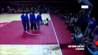 Pathetic Attempt From The Chinese Slam Dunk Contest
