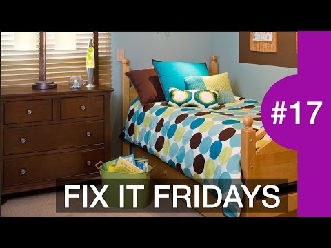 Interior Design | Boys Bedroom Decorating Ideas | Fix It Fridays #17