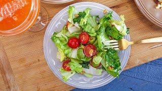 Giada De Laurentiis' Tomato, Avocado and Escarole Salad