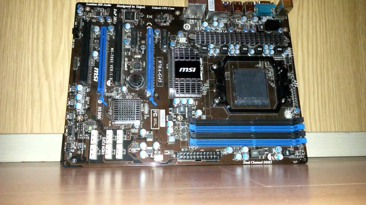 MSI 970A-G45 Live Driver