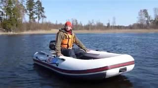 лодка альтаир 320 нднд и мотор suzuki тест драйв обзор 2